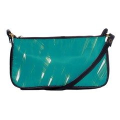 Background Green Abstract Shoulder Clutch Bags