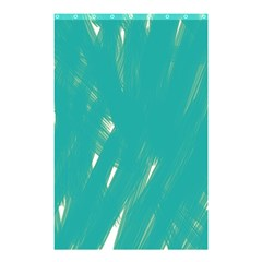 Background Green Abstract Shower Curtain 48  X 72  (small)