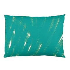 Background Green Abstract Pillow Case (two Sides)