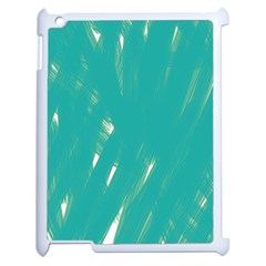 Background Green Abstract Apple Ipad 2 Case (white)
