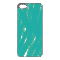 Background Green Abstract Apple Iphone 5 Case (silver)