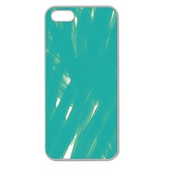 Background Green Abstract Apple Seamless Iphone 5 Case (clear)