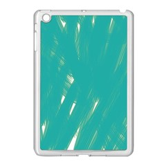 Background Green Abstract Apple Ipad Mini Case (white)