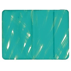 Background Green Abstract Samsung Galaxy Tab 7  P1000 Flip Case