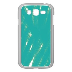 Background Green Abstract Samsung Galaxy Grand Duos I9082 Case (white)