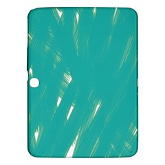 Background Green Abstract Samsung Galaxy Tab 3 (10 1 ) P5200 Hardshell Case