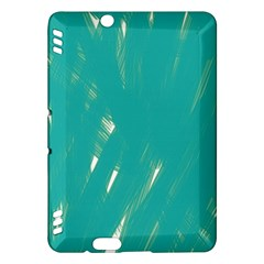 Background Green Abstract Kindle Fire Hdx Hardshell Case