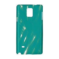 Background Green Abstract Samsung Galaxy Note 4 Hardshell Case