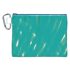 Background Green Abstract Canvas Cosmetic Bag (xxl)
