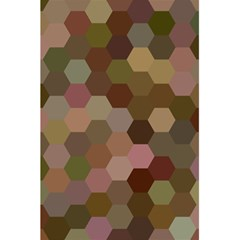 Brown Background Layout Polygon 5 5  X 8 5  Notebooks