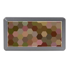 Brown Background Layout Polygon Memory Card Reader (mini)