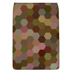Brown Background Layout Polygon Flap Covers (l)