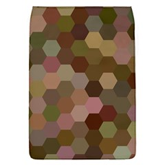 Brown Background Layout Polygon Flap Covers (s)