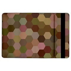 Brown Background Layout Polygon Ipad Air 2 Flip