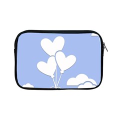 Clouds Sky Air Balloons Heart Blue Apple Ipad Mini Zipper Cases