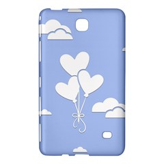Clouds Sky Air Balloons Heart Blue Samsung Galaxy Tab 4 (7 ) Hardshell Case