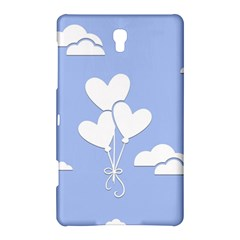 Clouds Sky Air Balloons Heart Blue Samsung Galaxy Tab S (8 4 ) Hardshell Case