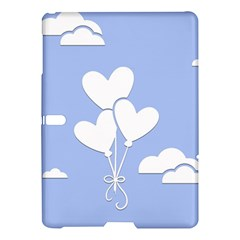 Clouds Sky Air Balloons Heart Blue Samsung Galaxy Tab S (10 5 ) Hardshell Case