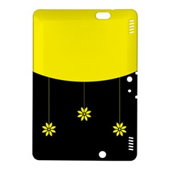 Flower Land Yellow Black Design Kindle Fire Hdx 8 9  Hardshell Case