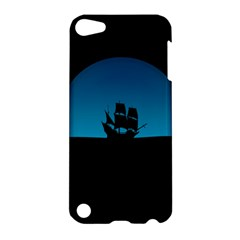 Ship Night Sailing Water Sea Sky Apple Ipod Touch 5 Hardshell Case
