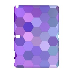 Purple Hexagon Background Cell Galaxy Note 1