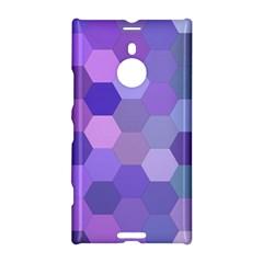 Purple Hexagon Background Cell Nokia Lumia 1520