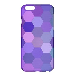 Purple Hexagon Background Cell Apple Iphone 6 Plus/6s Plus Hardshell Case