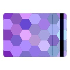 Purple Hexagon Background Cell Apple Ipad Pro 10 5   Flip Case