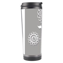 Flower Heart Plant Symbol Love Travel Tumbler