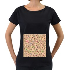 Lovely Shapes 1b Women s Loose Fit T Shirt (black)