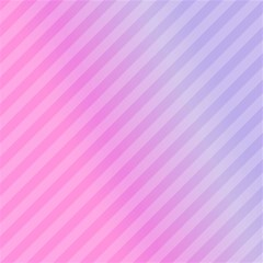 Diagonal Pink Stripe Gradient Magic Photo Cubes