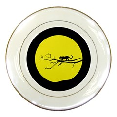 Jaguar Puma Animal Panther Cat Porcelain Plates