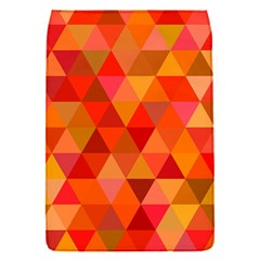 Red Hot Triangle Tile Mosaic Flap Covers (s)