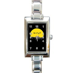 Christmas Dear Santa Claus Card Rectangle Italian Charm Watch