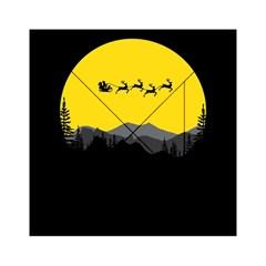 Christmas Dear Santa Claus Card Acrylic Tangram Puzzle (6  X 6 )