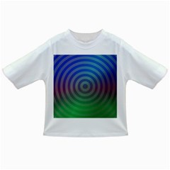 Blue Green Abstract Background Infant/toddler T Shirts