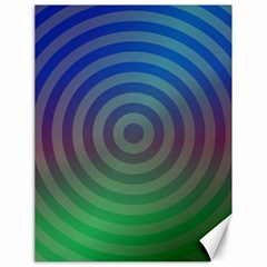 Blue Green Abstract Background Canvas 18  X 24