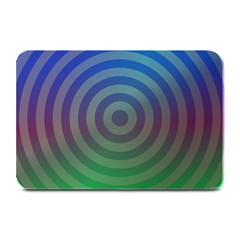 Blue Green Abstract Background Plate Mats
