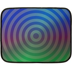 Blue Green Abstract Background Fleece Blanket (mini)