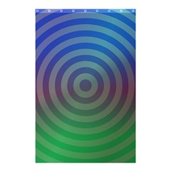 Blue Green Abstract Background Shower Curtain 48  X 72  (small)