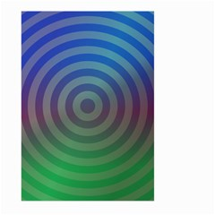 Blue Green Abstract Background Large Garden Flag (two Sides)