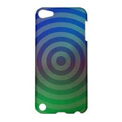 Blue Green Abstract Background Apple Ipod Touch 5 Hardshell Case