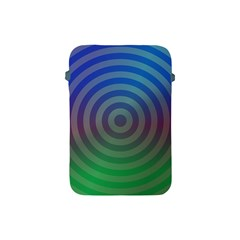 Blue Green Abstract Background Apple Ipad Mini Protective Soft Cases