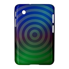 Blue Green Abstract Background Samsung Galaxy Tab 2 (7 ) P3100 Hardshell Case