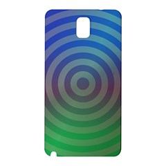 Blue Green Abstract Background Samsung Galaxy Note 3 N9005 Hardshell Back Case