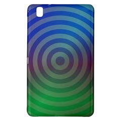 Blue Green Abstract Background Samsung Galaxy Tab Pro 8 4 Hardshell Case