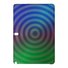 Blue Green Abstract Background Samsung Galaxy Tab Pro 12 2 Hardshell Case