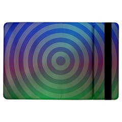 Blue Green Abstract Background Ipad Air Flip
