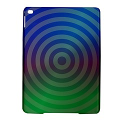 Blue Green Abstract Background Ipad Air 2 Hardshell Cases