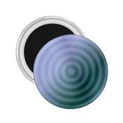 Teal Background Concentric 2 25  Magnets